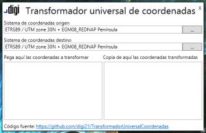 Transformador Universal de Coordenadas