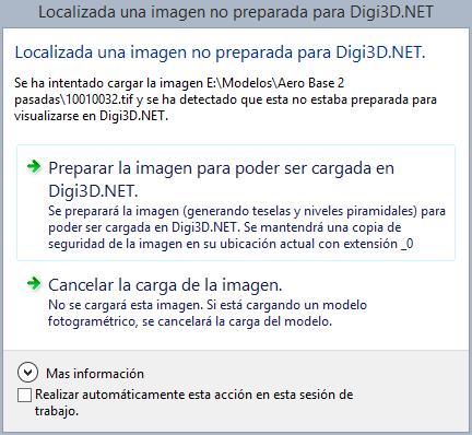 Nuevo cuadro de diálogo imagen no preparada para Digi3D.NET